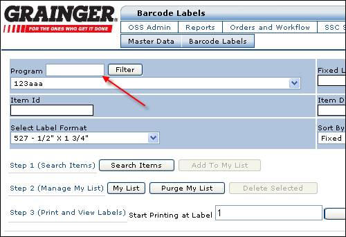 Grainger Inventory Solutions User Guide